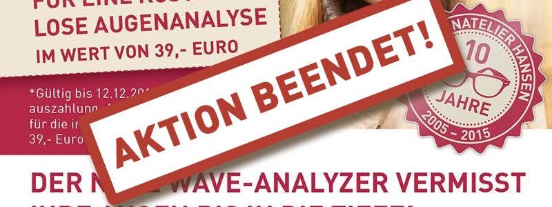 Unser neuer Mitarbeiter ist da – Der Wave Analyzer